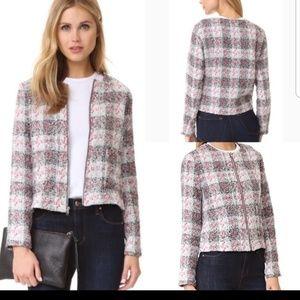 Cupcakes and cashmere zip up blazer jacket